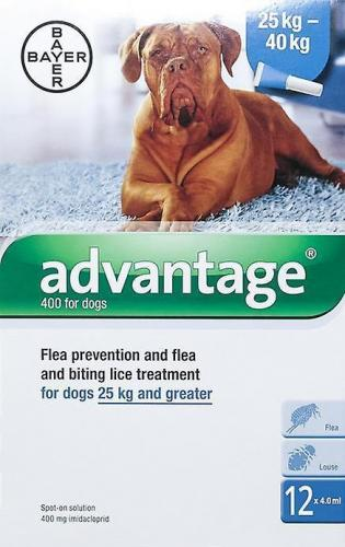 Advantage II Canine Blue<br>$17.45
