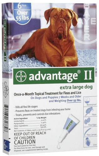 Advantage II Canine Blue vial<br>$17.45