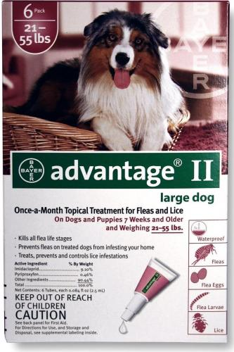 Advantage II Canine Red<br>$16.31