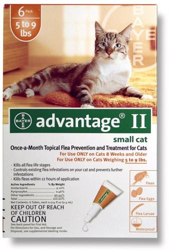 Advantage II Feline 9 Orange<br>$14.46