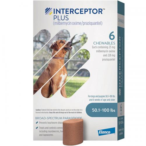 Interceptor Plus Blue 23mg per tab<br>$16.65