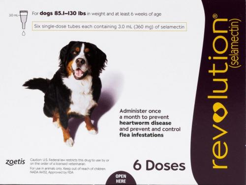 Revolution Canine Plum 40-60kg (6 vials) <br>$197.28